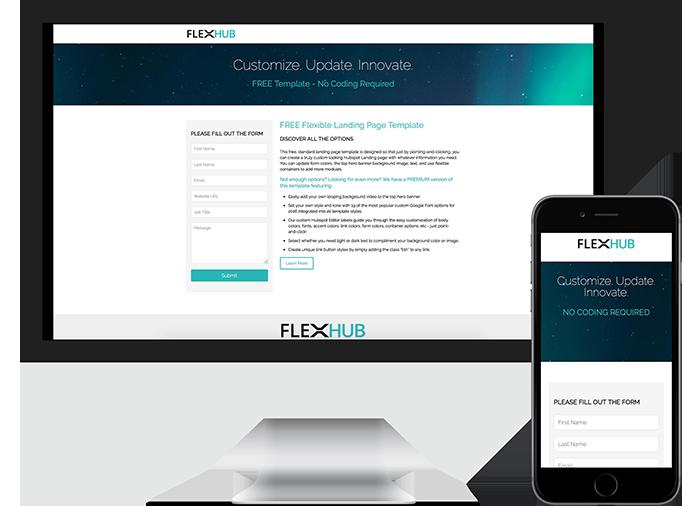 Free Hubspot Landing Page Template - Begin Bound LLC