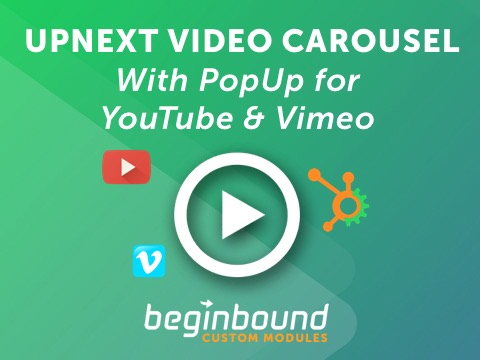 UpNext Video Carousel - $15