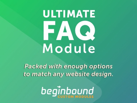 ULTIMATE FAQ Module - $10