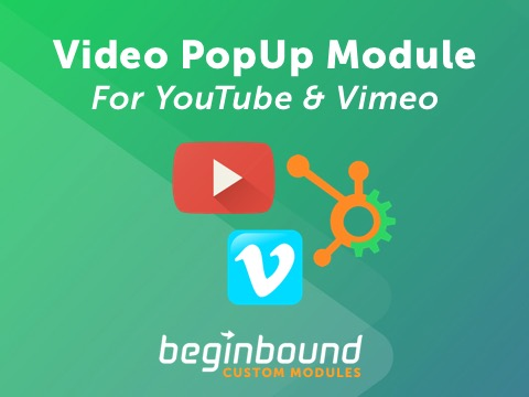YouTube Vimeo Popup Module - $15